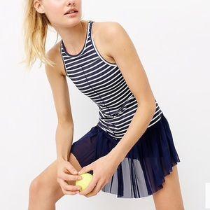New Balance J. Crew Striped Tennis Dress NWT